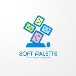 sa_akutsuさんの「パソコンスクール・ソフトパレット・SOFT PALETTE」のロゴ作成への提案