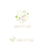 marutsukiさんの鍼灸マッサージサロンのロゴへの提案