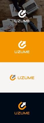 tanaka10さんのコンサルティング会社「UZUME」のロゴへの提案