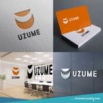nekosuさんのコンサルティング会社「UZUME」のロゴへの提案