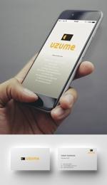 skliberoさんのコンサルティング会社「UZUME」のロゴへの提案