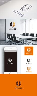smoke-smokeさんのコンサルティング会社「UZUME」のロゴへの提案