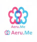 少し憧れな人と会えるマッチングサイト「Aeru.me」のロゴへの提案