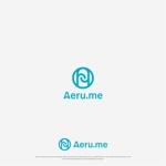 Karma_228さんの少し憧れな人と会えるマッチングサイト「Aeru.me」のロゴへの提案
