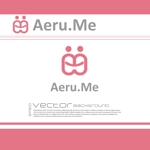 chopin1810lisztさんの少し憧れな人と会えるマッチングサイト「Aeru.me」のロゴへの提案