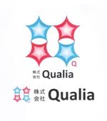 不動産会社「株式会社Qualia(クオリア)」の社名ロゴへの提案