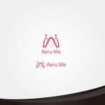 cc110さんの少し憧れな人と会えるマッチングサイト「Aeru.me」のロゴへの提案