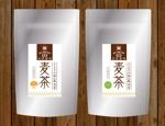 lanpeeさんの麦茶のラベルデザインへの提案