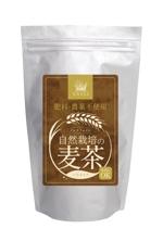 riranosukeさんの麦茶のラベルデザインへの提案