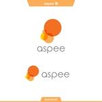 queuecatさんの女性向けWEBメディア「aspee」のロゴ制作への提案