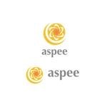 saki8さんの女性向けWEBメディア「aspee」のロゴ制作への提案