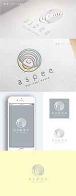 smoke-smokeさんの女性向けWEBメディア「aspee」のロゴ制作への提案