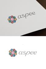cozzyさんの女性向けWEBメディア「aspee」のロゴ制作への提案