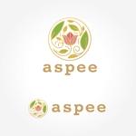 hiroro4422さんの女性向けWEBメディア「aspee」のロゴ制作への提案