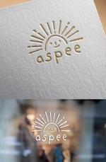 ns_worksさんの女性向けWEBメディア「aspee」のロゴ制作への提案