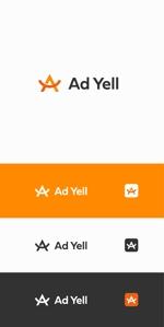 designdesignさんのWeb広告運用代行・HP制作会社「Ad Yell〜アドエール〜」のロゴへの提案