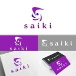 minervaabbeさんの個人プロデュース企業・メディア「saiki」のロゴへの提案