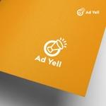 doremidesignさんのWeb広告運用代行・HP制作会社「Ad Yell〜アドエール〜」のロゴへの提案