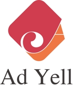 hiraboさんのWeb広告運用代行・HP制作会社「Ad Yell〜アドエール〜」のロゴへの提案