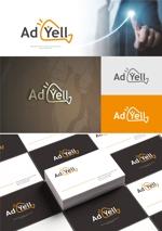 Doing1248さんのWeb広告運用代行・HP制作会社「Ad Yell〜アドエール〜」のロゴへの提案