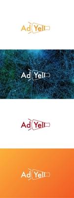 red3841さんのWeb広告運用代行・HP制作会社「Ad Yell〜アドエール〜」のロゴへの提案