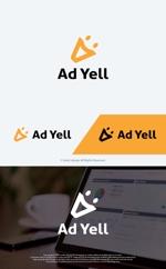take5-designさんのWeb広告運用代行・HP制作会社「Ad Yell〜アドエール〜」のロゴへの提案