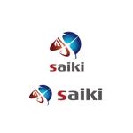 saki8さんの個人プロデュース企業・メディア「saiki」のロゴへの提案