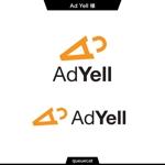 queuecatさんのWeb広告運用代行・HP制作会社「Ad Yell〜アドエール〜」のロゴへの提案