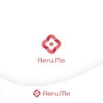 e-netsさんの少し憧れな人と会えるマッチングサイト「Aeru.me」のロゴへの提案