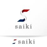 katachidesignさんの個人プロデュース企業・メディア「saiki」のロゴへの提案