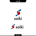 queuecatさんの個人プロデュース企業・メディア「saiki」のロゴへの提案