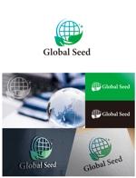yamamoto19761029さんの新会社「Global Seed」のロゴ制作への提案