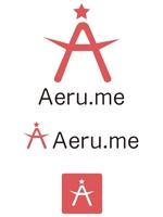 dd51さんの少し憧れな人と会えるマッチングサイト「Aeru.me」のロゴへの提案
