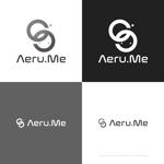 themisablyさんの少し憧れな人と会えるマッチングサイト「Aeru.me」のロゴへの提案