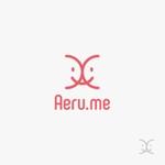 skyktmさんの少し憧れな人と会えるマッチングサイト「Aeru.me」のロゴへの提案