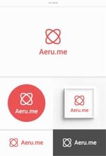 DeeDeeGraphicsさんの少し憧れな人と会えるマッチングサイト「Aeru.me」のロゴへの提案