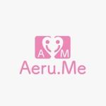 STAY-GOLDさんの少し憧れな人と会えるマッチングサイト「Aeru.me」のロゴへの提案
