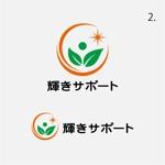 drkigawaさんの障害児の相談支援事業所「輝きサポート」のロゴへの提案