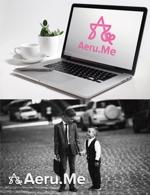 takarayさんの少し憧れな人と会えるマッチングサイト「Aeru.me」のロゴへの提案