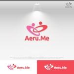 le_cheetahさんの少し憧れな人と会えるマッチングサイト「Aeru.me」のロゴへの提案