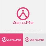 drkigawaさんの少し憧れな人と会えるマッチングサイト「Aeru.me」のロゴへの提案