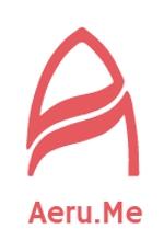 AkihikoMiyamotoさんの少し憧れな人と会えるマッチングサイト「Aeru.me」のロゴへの提案