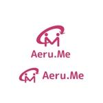 saki8さんの少し憧れな人と会えるマッチングサイト「Aeru.me」のロゴへの提案