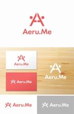 yamana_designさんの少し憧れな人と会えるマッチングサイト「Aeru.me」のロゴへの提案