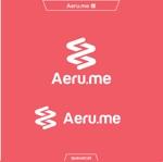 queuecatさんの少し憧れな人と会えるマッチングサイト「Aeru.me」のロゴへの提案