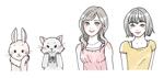 運営サイトで使用する女性と動物のキャラクターデザイン(バストアップ)+表情差分の作成の仕事への提案