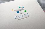 ビジネスマッチングサイト「ビジェント」のロゴへの提案