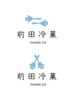 colour_sさんの「前田冷菓」のロゴ作成への提案
