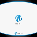 late_designさんの株式会社NEXTのロゴデザインの依頼への提案