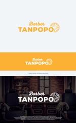 take5-designさんの理容室のロゴ  「Barber タンポポ」への提案